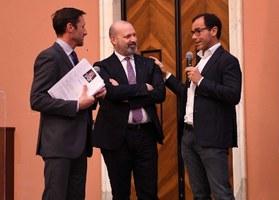 Bonaccini e Davide Cassani