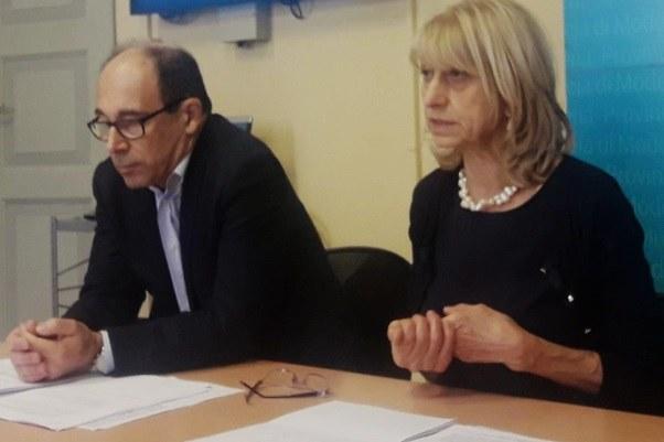 Conferenza stampa bandi sisma a Modena