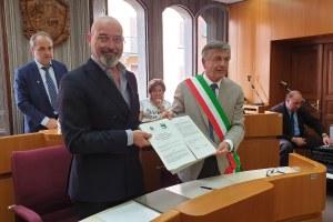 """Terme di Porretta, Regione e Comune Alto Reno Terme, protocollo per il recupero del """"Grottino Chini"""" (18-07-19) -2"""