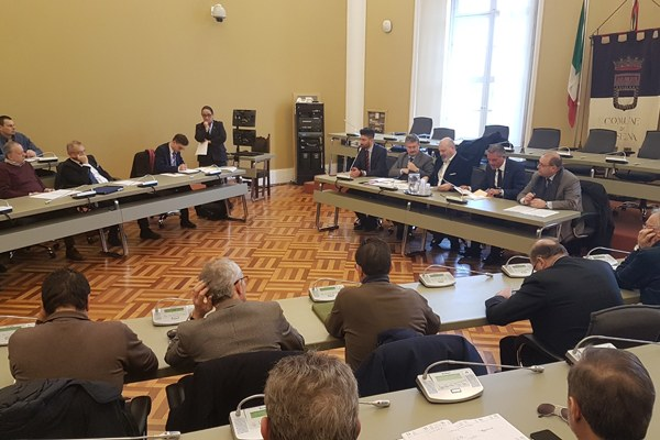 Summit Cesena chiusura E45 Bonaccini (gennaio 2019)