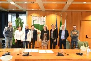 Conferenza stampa Regione e Slow Food Italia per promuovere le produzioni locali della tradizione enogastronomica Caselli - Pascale (9-4-18)