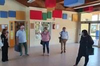 Assessora Salomoni in visita alle scuole di Cesena 1 luglio 2020