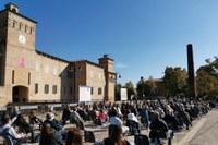 Inaugurazione mostra Soliera Pomodoro 17 ottobre 2020 4