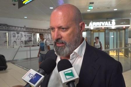 Incidente Borgo Panigale - Bonaccini all'aeroporto