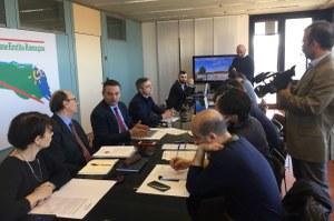 legge urbanistica, Donini, conferenza stampa (27-2-19)
