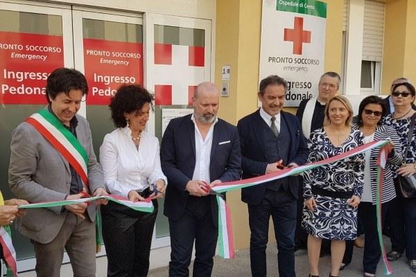 Inaugurazione pronto soccorso di Cento (Fe)