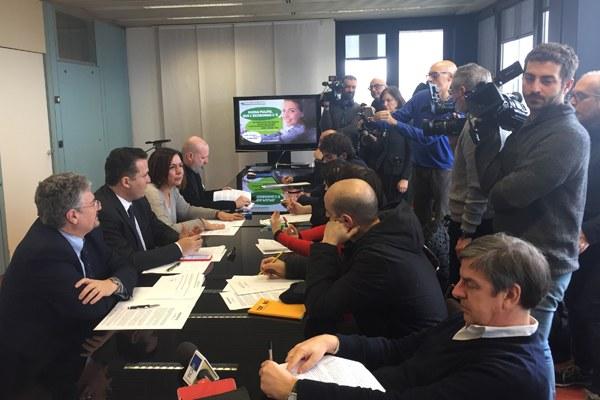 Ecobonus conferenza stampa febbraio 2019 Bonaccini Gazzolo Donini