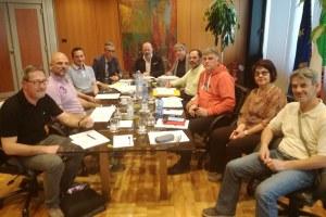 Incontro Bonaccini sindacati Polizia locale (aprile 2018)