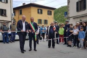 Inaugurazione piazza Matteotti Santa Sofia (Fc) 30 aprile 2018 Bonaccini 2