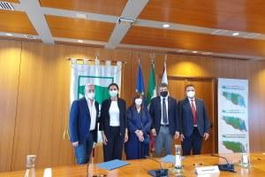 Firma Convenzione con Seràgnoli 27/07/2021 - 2
