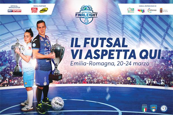 Manifesto del Futsal in ER 20-24 marzo