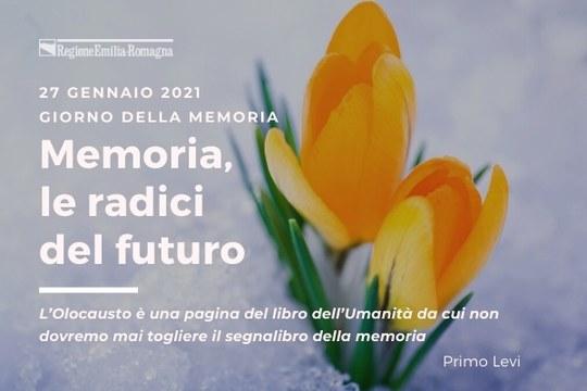 Giorno della Memoria 2021 - Primo Piano