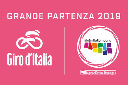 Giro d'Italia Emilia-Romagna 28 gennaio 2019 logo
