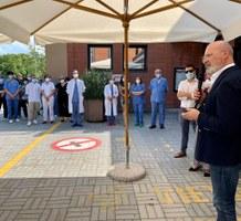 Giunta RER a Imola - Incontro con i sanitari ospedale Imola