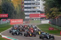 Gp di F1 a Imola 1 novembre 2020 (partenza)