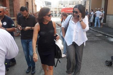 Gualmini , Gazzolo sopralluogo incidente in tangenziale Bologna