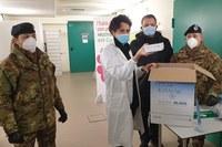 Arrivo del vaccino Covid al Bellaria - 2