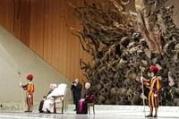 Il Papa riceve volontari Protezione civile dell'Emilia-Romagna