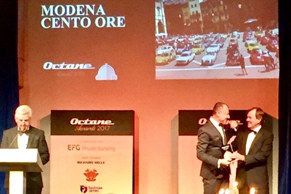 """Il premio Octane """"Rally of the Year 2017""""(novembre 2017)"""
