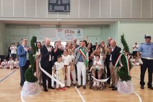 Inaugurazione palazzo dello sport di Medolla (maggio 2018)