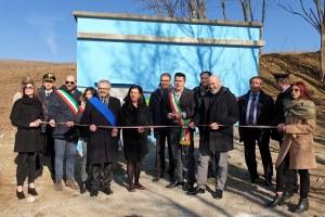 Inaugurazione acquedotto Pellegrino Parmense Bonaccini (16 febbraio 2019)