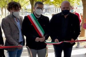 Inaugurazione asilio nido Castenuovo Rangone, Bonaccini, Paradisi, Franchini