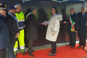 Inaugurazione capannone protezione civile Villanova Val D'Arda Piacenza Gazzolo (dicembre 2019)