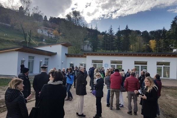 Inaugurazione Cittadella solidarietà Montegallo Bonaccini Gazzolo 5 novembre 2017 2