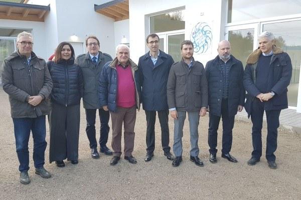 Inaugurazione Cittadella solidarietà Montegallo Bonaccini Gazzolo 5 novembre 2017 4
