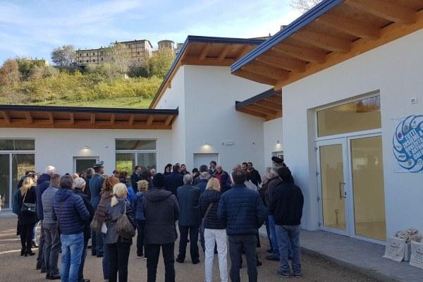 Inaugurazione Cittadella solidarietà Montegallo Bonaccini Gazzolo 5 novembre 2017 5