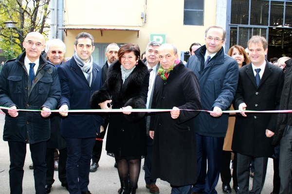 Inaugurazione impianto tri-generazione ospedale Maggiore Parma con Venturi, 1/12/2017