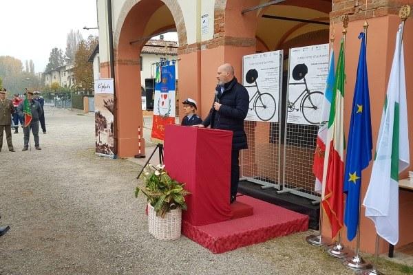 Inaugurazione Museo della Pace Crevalcore Bologna 4 novembre 2017 Bonaccini
