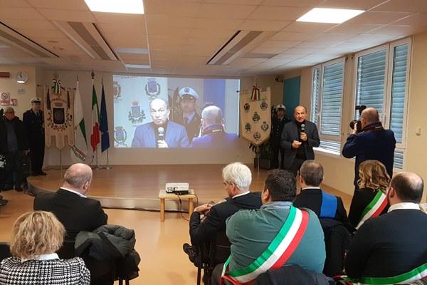 Inaugurazione Ospedale Correggio RE Bonaccini e Venturi (2 dicembre 2017) - assessore