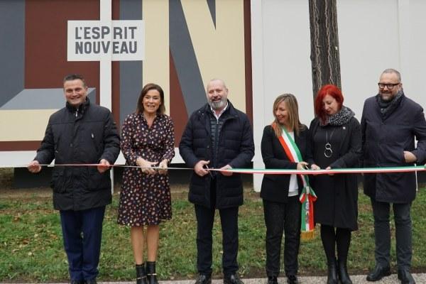 Inaugurazione padiglione Esprit nouveau