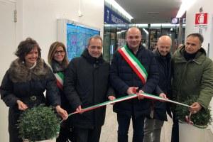 Inaugurazione touch wall  stazione mediopadana RE Corsini Manghi (gennaio 2019)