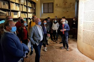 Bonaccini inaugura museo città Bobbio 26 sett. 2020