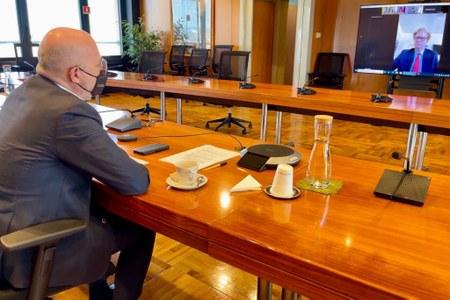 Incontro Bonaccini ambasciatore Austria