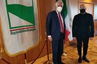 Incontro Bonaccini-Giani