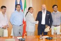Incontro pres. Bonaccini delegazione cilena - 2 - 24/07/18