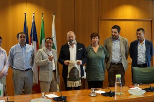 Incontro pres. Bonaccini delegazione cilena - 24/07/18