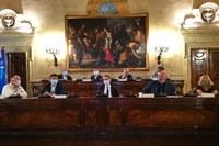 Giunta a Bologna 28 settembre 2020, incontro sindaci Palazzo Malvezzi