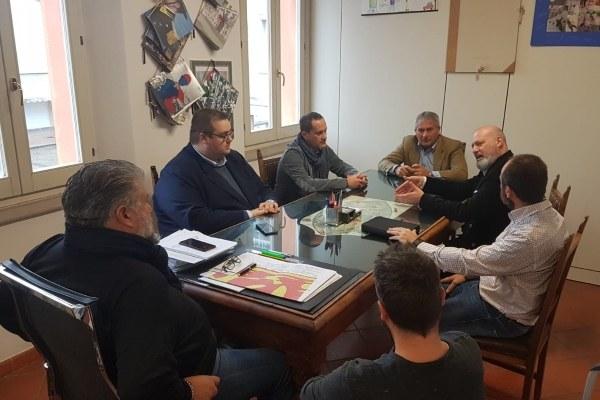 Incontro presidente Bonaccini con sindaci Gatteo e Cesenatico - 2 - 25/11/2018