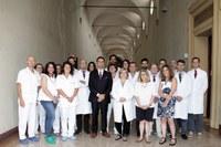 Gasbarrini con equipe medico-chirugica dell'Istituto Ortopedico Rizzoli