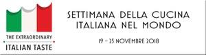 Settimana della cucina italiana_canada_logo_novembre 2018