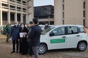 Consegna auto Guardie ecologiche volontarie 19/02/2021