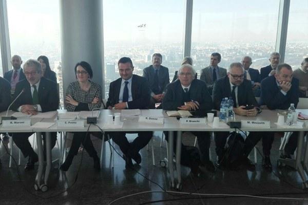 La delegazione della Regione Emilia-Romagna al tavolo Autonomia 116 21 novembre 2017