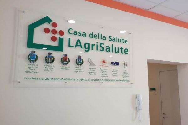 Bonaccini inaugura casa salute Lagrimone (PR), LAgriSalute (3-8-'19)