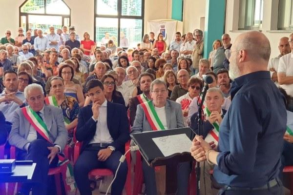 Bonaccini inaugura casa salute Lagrimone (PR), LAgriSalute (3-8-'19) - 2