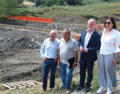 Novafeltria Gazzolo con sindaco Zanchini