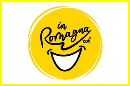 Logo campagna In Romagna con il sorriso giugno 2020